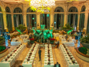 Elegant Dinner in the Palace